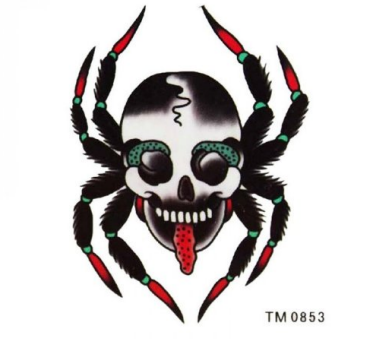 Temporary Tattoo Spinne